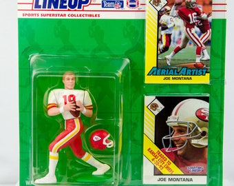 1993 Starting Lineup Joe Montana San Francisco 49ers Chiefs Action Figure