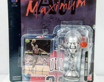 NBA Collection Silver Edition Air Maximum Michael Jordan Figure