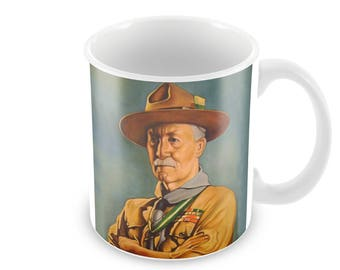 Lord Baden-Powell Ceramic Coffee Mug    Free Personalisation