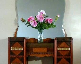 Art Deco Waterfall Vanity Dressing Table Dresser Lebanon, Ohio