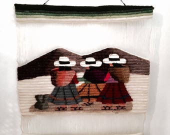 Mexican wall art | Wall covering | Wall art | Handwoven wall hanging deco