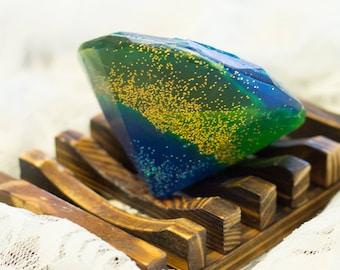 Handmade Under the Sea Soap Diamond
