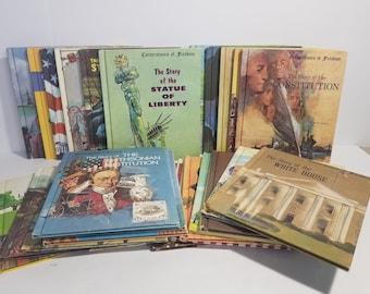 Vintage Cornerstones of Freedom american History Set of 24 Homeschool