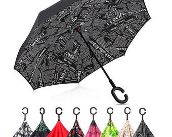Reversible Folding Umbrella (Inverted umbrella)