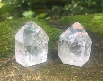 2 Fire & Ice Quartz Crystal generators towers