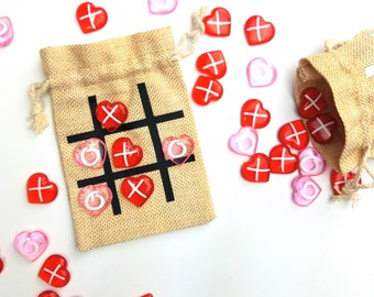 Kids Valentines Gift, Valentine Gift, Tic Tac Toe Game, Class Gift, Teacher