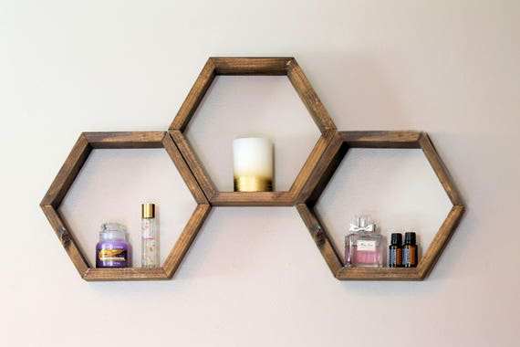 honeycomb shelf honeycomb shelves hex shelves hexagon. Black Bedroom Furniture Sets. Home Design Ideas
