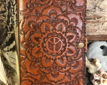Handcrafted Leather Phone Case.