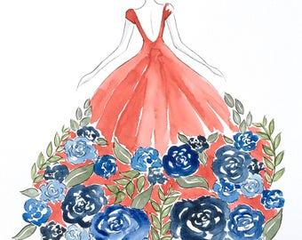 Flower Gown (Original)