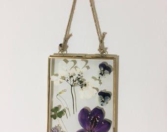 Floral Specimen Frame - 5x7