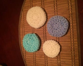 Scrubbers for face or dishes