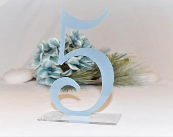 Elegant Table Numbers | Wedding Table Numbers | Party Decor | Standing Numbers | Centerpieces | Acrylic |