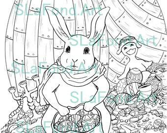Egglandia Coloring Pages