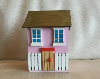 Handmade wooden house