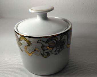 Heavenly Host by AMERICAN ATELIER Sugar Bowl with Lid