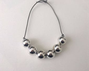Mirrored Ball Necklace