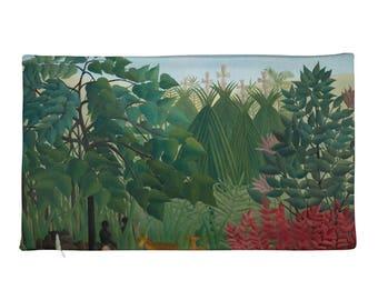 Henri Rousseau, The Waterfall - Rectangular Pillow Case only