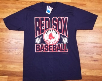 Vintage 1992 Deadstock With Tags Boston Red Socks Baseball T Shirt Size XL