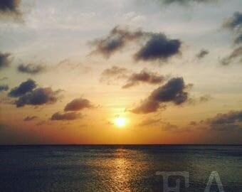 Aruba Ocean Sunset
