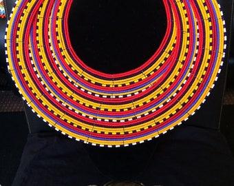 Masai Large Tribal Neck Ring
