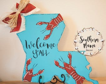 Louisiana Crawfish Sign