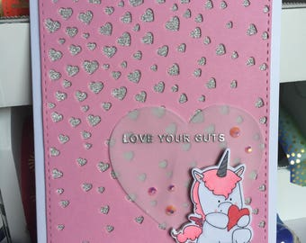 Love You Card - Friendship