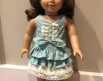 Ruffles and Lace Sleeveless dress