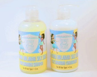 Trendy Roots Organic HulaHair Shampoo & Conditioner