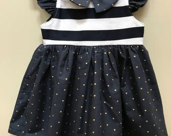 Vintage Style Baby Dress // 1 year old