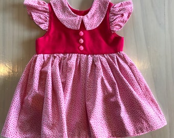 Vintage Style Baby Dress // 6-12 months