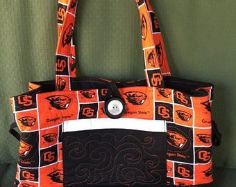 Quilted Oregon State Purse/Bag