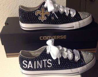 Saints Converse Bling Sneaker