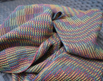 Handwoven short scarf