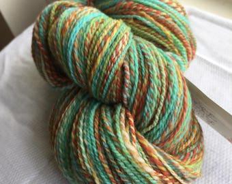 Handspun polwarth yarn