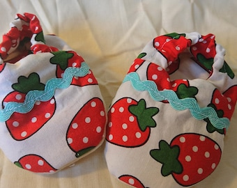 Strawberry Booties