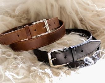 Personalized custom belt