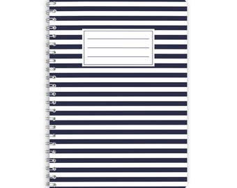 Note Pad A5 - BLUE LINE