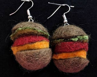 Hamburger earring