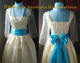 PDF Pattern: Dress Anastasia