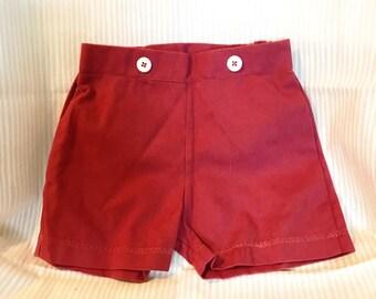 Boys Blush  and Lime Shorts
