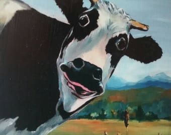 Original Cow Art