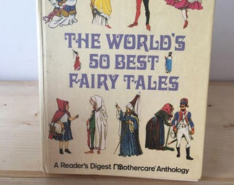 Vintage Book Of Fairy Tales