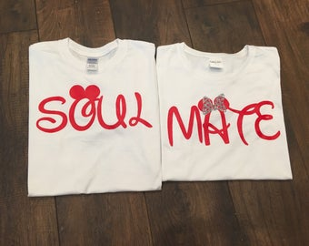 Soul Mate T-shirts for Couples