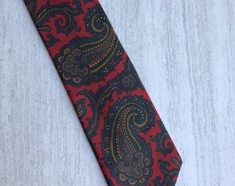 Paisley John Comfort London England Men's Tie