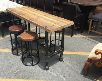 Counter Height Set with 4 Stools
