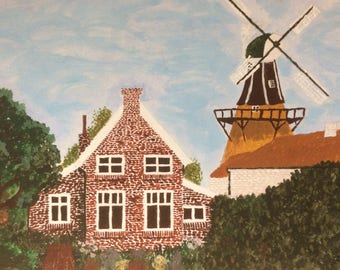 Family Fehnhaus with mill