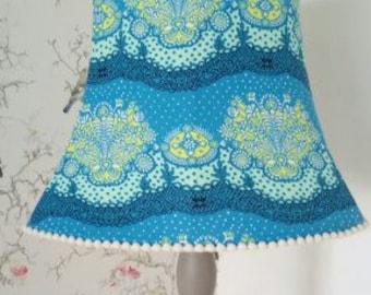 Blue Ditsy Floral Lamp Shade