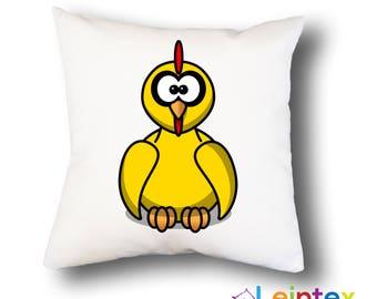 Pillowcase 40x40 pillow funny chicken No2