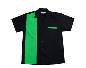 Retro 50s Bowling Shirt John