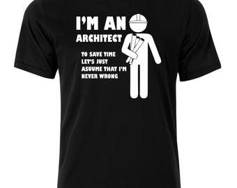 Architect T-Shirt - available in many sizes and colors